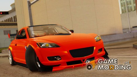 Mazda RX-8 Drifter for GTA San Andreas