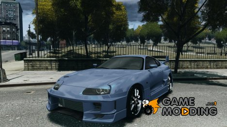 Toyota Supra Drift Setting for GTA 4
