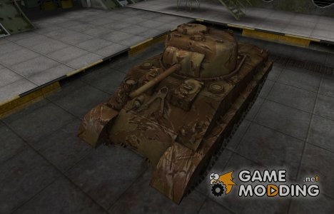 Американский танк M4A2E4 Sherman для World of Tanks