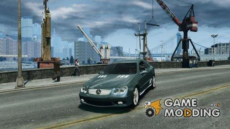 Mercedes-Benz CLK 63 AMG для GTA 4