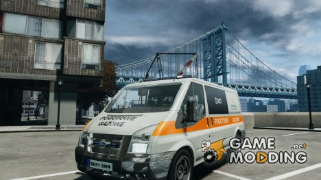 Ford Transit Usluga polski gazu для GTA 4