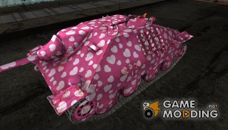 "Hetzer ""in love"" для World of Tanks"