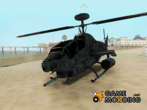 AH 1W Super Cobra Gunship for GTA San Andreas
