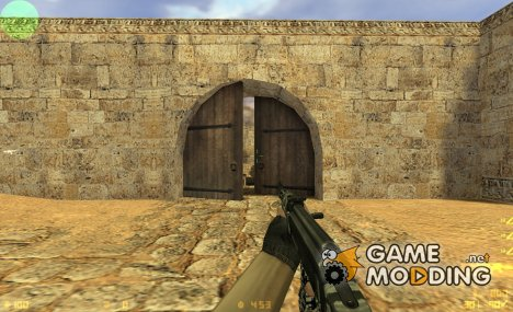 Urban camo ak47 для Counter-Strike 1.6