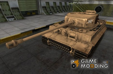 Ремоделлинг для PzKpfw VI Tiger для World of Tanks
