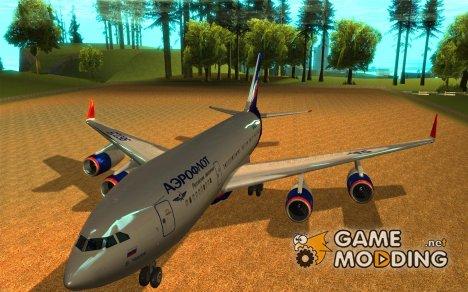 Ил-96 300 Аэрофлот в новых цветах for GTA San Andreas