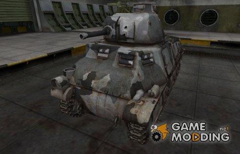 Шкурка для немецкого танка PzKpfw S35 739 (f) for World of Tanks