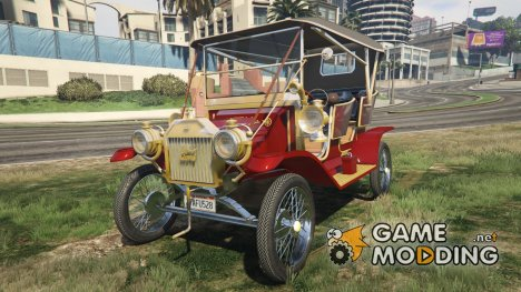 Ford T 1910 Passenger Open Touring Car for GTA 5