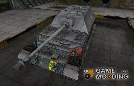Контурные зоны пробития Ferdinand для World of Tanks
