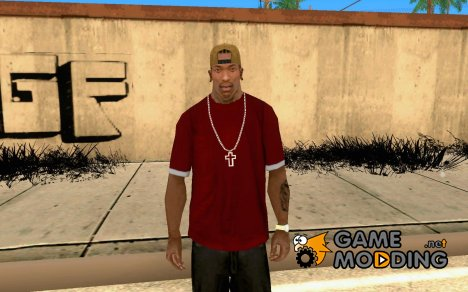 Футболка в стиле Dota 2 для GTA San Andreas