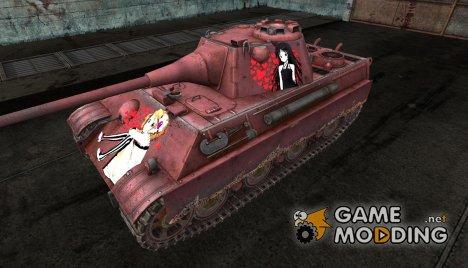 Шкурка для Panther II (k-on) для World of Tanks