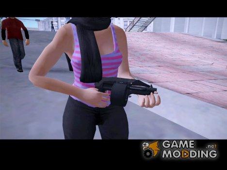 Sweeper Shotgun (GTA Online Bikers DLC) для GTA San Andreas