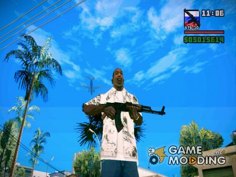 New Weapon Pack для GTA San Andreas для GTA San Andreas