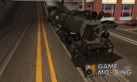 CC5019 Indonesian Steam Locomotive v1.0 для GTA San Andreas