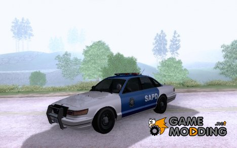 Vapid Los Santos Police Cruiser v.1.2 for GTA San Andreas