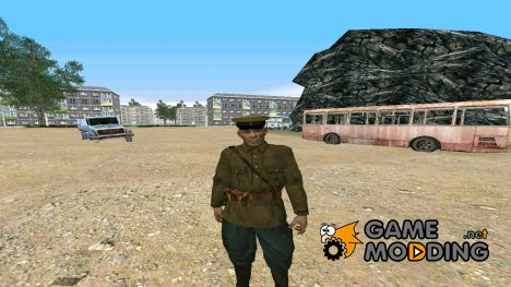 Комиссар Марков for GTA San Andreas