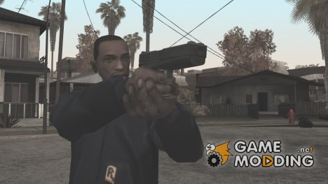 HD Colt 45 (With HQ Original Icon) для GTA San Andreas