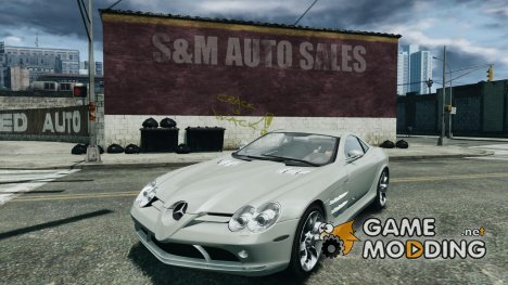 Mercedes-Benz SLR McLaren for GTA 4