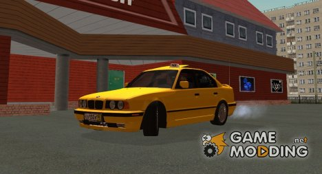 BMW 525tds E34 Такси for GTA San Andreas