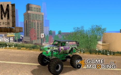 Monster Truck Grave Digger v2.0 final для GTA San Andreas