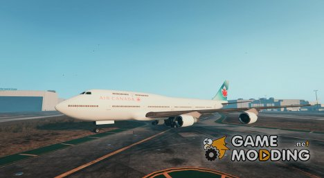 Air Canada + Air Canada Rouge Textures for Jumbo Jet for GTA 5