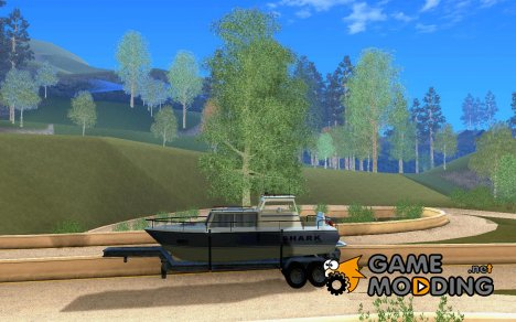 Boat Trailer for GTA San Andreas