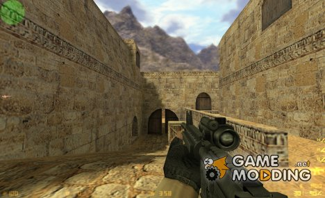 Tactical M4A1 on Peck's Animations для Counter-Strike 1.6