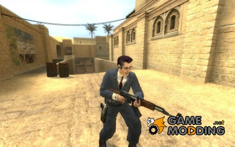 Gman Leet для Counter-Strike Source