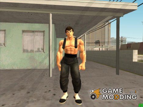 Fei Long (Street Fighter 4) для GTA San Andreas