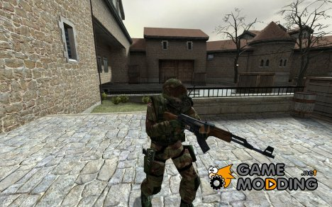 British Camo SAS V2! для Counter-Strike Source