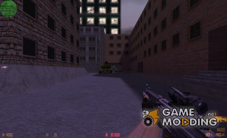 HD SG552 (remix by G@L) для Counter-Strike 1.6