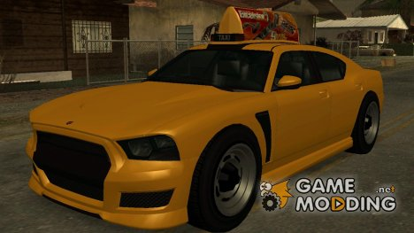GTA V Buffalo Taxi for GTA San Andreas
