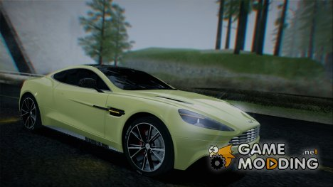 Aston Martin Vanquish 2013 Road version for GTA San Andreas