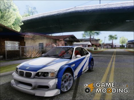 BMW M3 E46 GTR NFS MW for GTA San Andreas