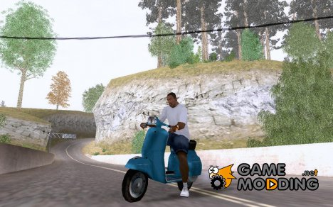 Faggio Vintage for GTA San Andreas