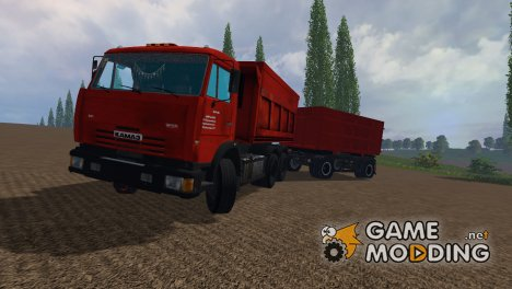 КамАЗ 65115 для Farming Simulator 2015