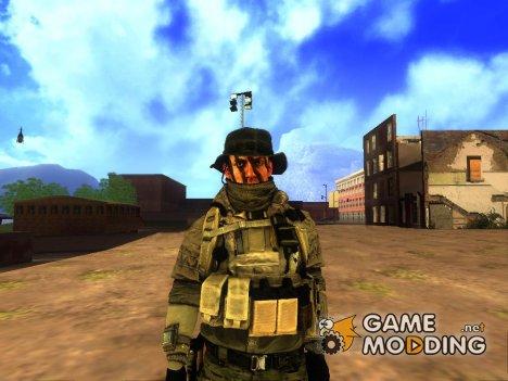 Recon Soldier (Battlefield 4) for GTA San Andreas