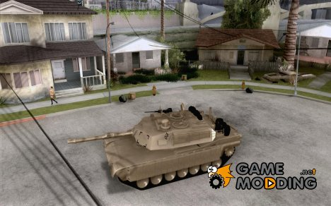 M1A2 Abrams из Battlefield 3 for GTA San Andreas
