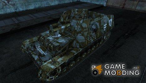 Hummel 03 для World of Tanks