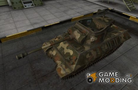 Шкурка для M36 Slugger for World of Tanks