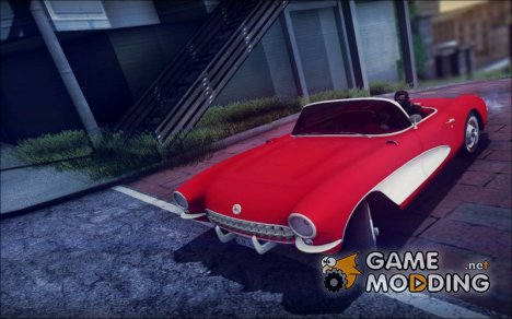 1957 Chevrolet Corvette C1 for GTA San Andreas