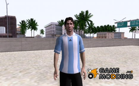 Messi for GTA San Andreas