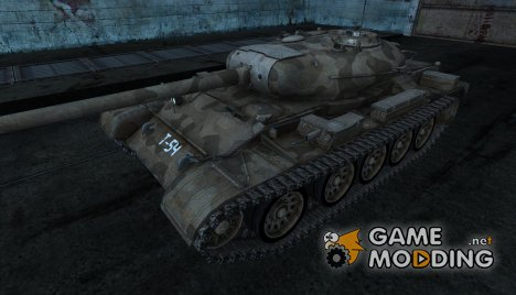 T-54 wespe3891 для World of Tanks