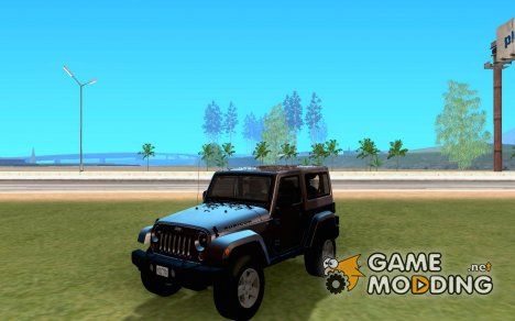 Jeep Wrangler Rubicon для GTA San Andreas