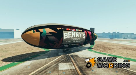 Blimp Benny\'s Original Motor Works для GTA 5