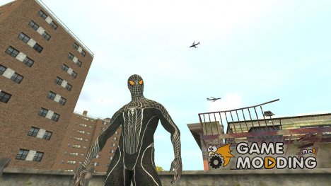Amazing Spiderman Black для GTA 4