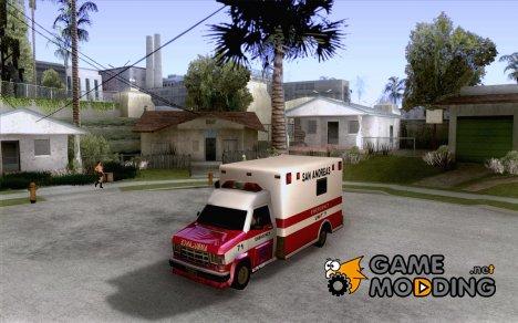 Ambulance 1987 San Andreas for GTA San Andreas