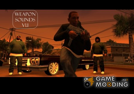 Weapon Sounds v1.1 для GTA San Andreas