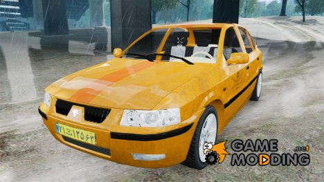Iran Khodro Samand LX Taxi for GTA 4