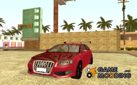Audi S3 Tuned 2007 for GTA San Andreas
